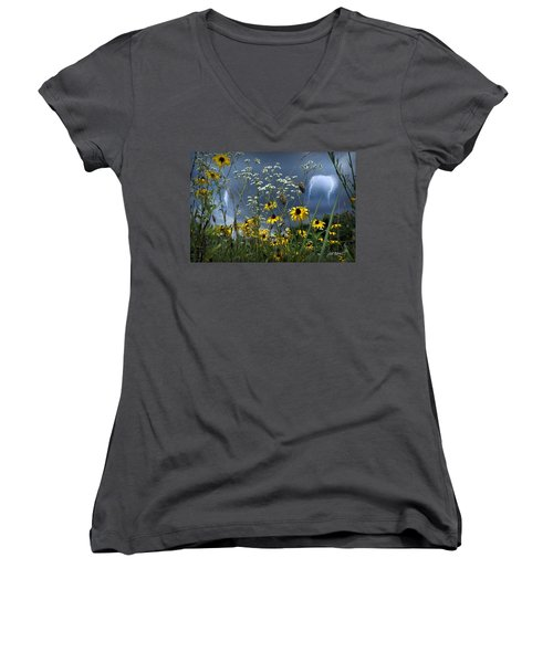 No Vase Needed Women's V-Neck T-Shirt