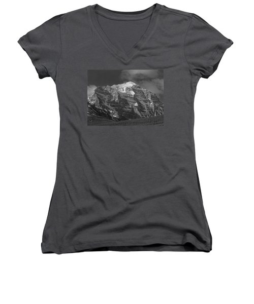 203553-north Face Mt. Temple Bw Women's V-Neck