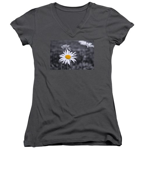 November Daisy Women's V-Neck (Athletic Fit)