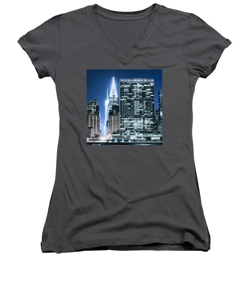 Ny Sights Women's V-Neck