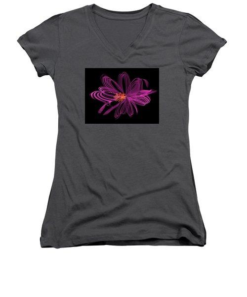 Oblong Loops Women's V-Neck T-Shirt