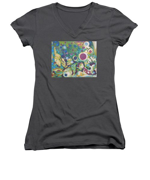Obscure Women's V-Neck (Athletic Fit)