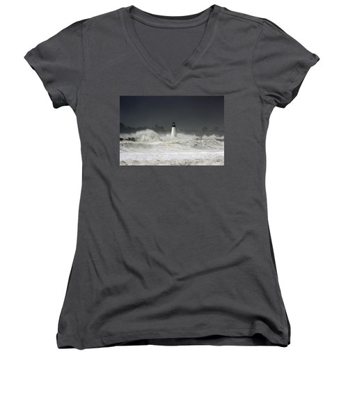 Ocean A Fury Women's V-Neck (Athletic Fit)