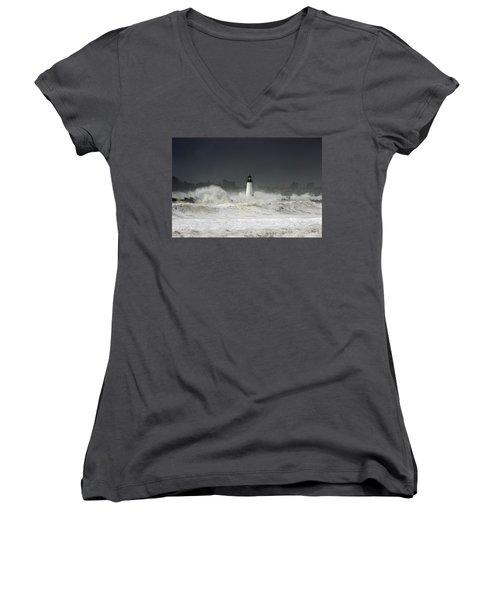 Ocean A Fury Women's V-Neck T-Shirt