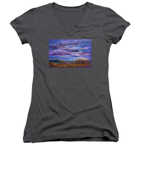 Nightlight Women's V-Neck T-Shirt