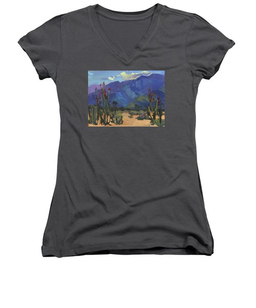 Ocotillos At Smoke Tree Ranch Women's V-Neck