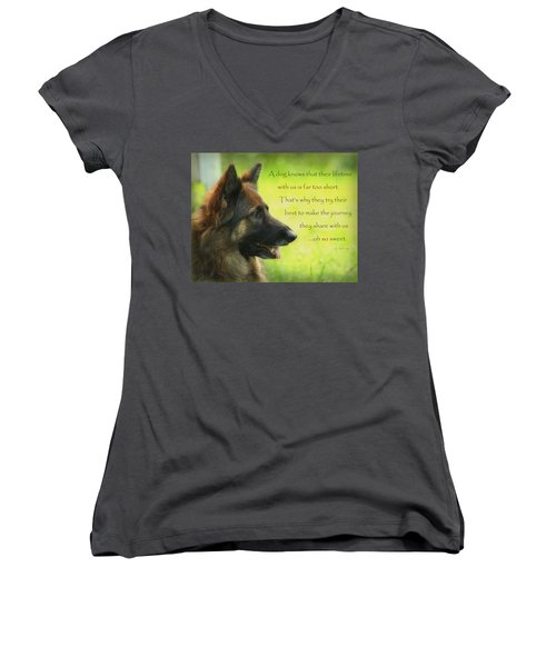 Oh So Sweet Women's V-Neck (Athletic Fit)