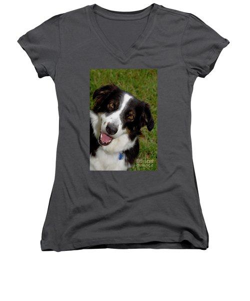 Old Faithful Women's V-Neck T-Shirt