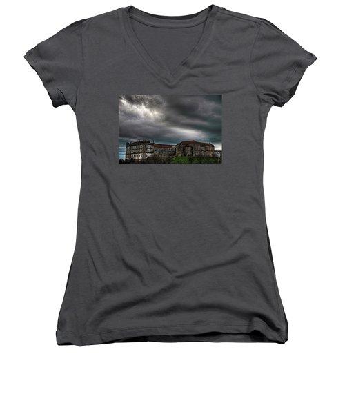 Old Monastery Women's V-Neck T-Shirt