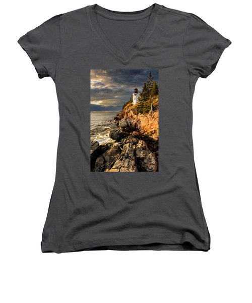On The Bluff Women's V-Neck
