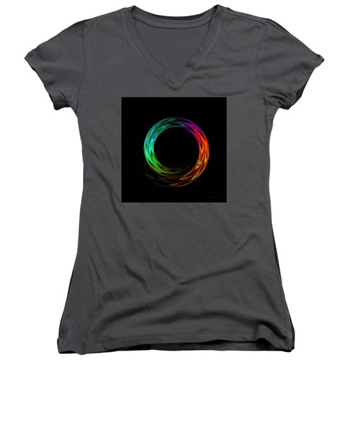Once Around Women's V-Neck (Athletic Fit)