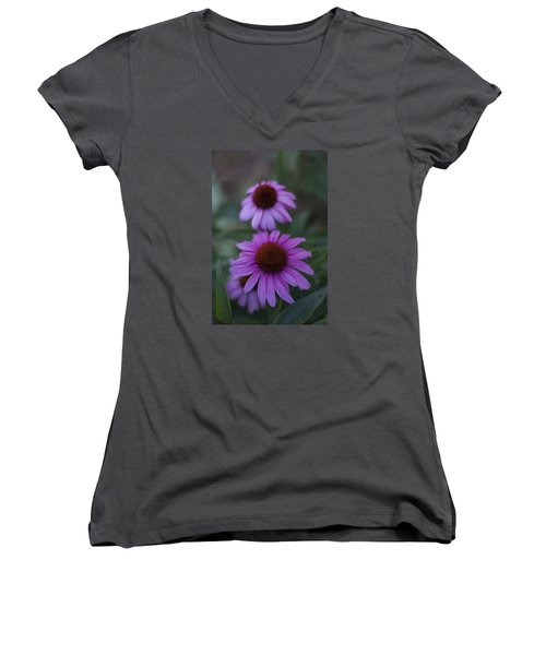 One Is Shy Women's V-Neck
