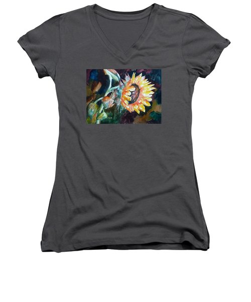 One Sunflower Women's V-Neck