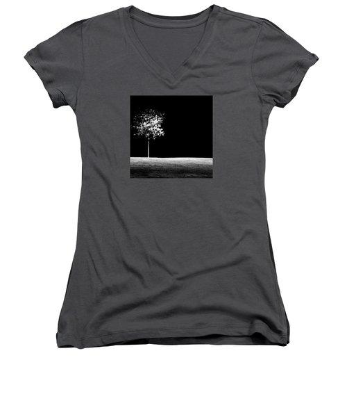 One Tree Hill Women's V-Neck T-Shirt (Junior Cut) by Darryl Dalton