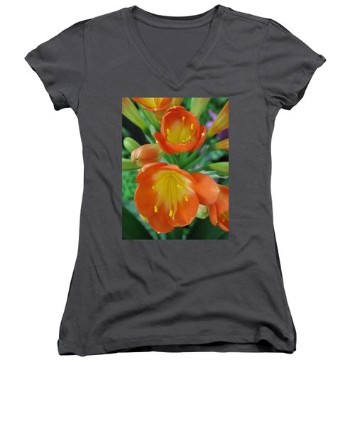 Orange Crush Women's V-Neck
