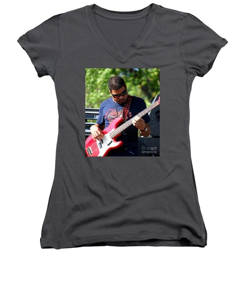 Oteil Burbridge Women's V-Neck T-Shirt