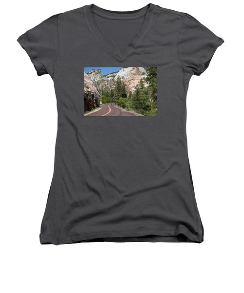 Out For A Ride Women's V-Neck