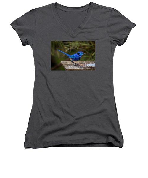 Outside Diner Women's V-Neck T-Shirt