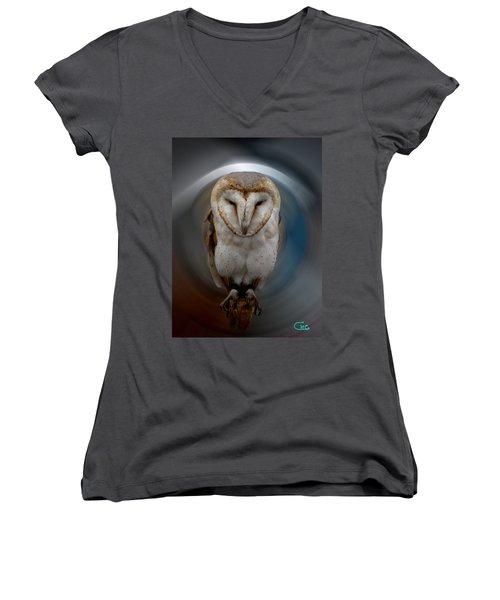 Owl Alba  Spain  Women's V-Neck