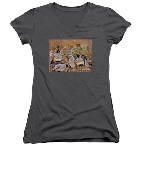 Papa Grande Women's V-Neck T-Shirt