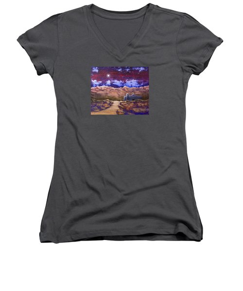 Paper Moon Women's V-Neck T-Shirt