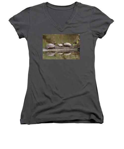 Parental Supervision  Women's V-Neck T-Shirt