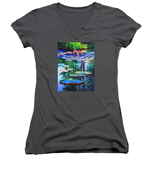 Passion For Color And Light Women's V-Neck T-Shirt