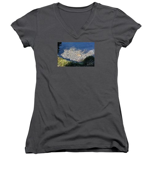 Peaceful Bay Women's V-Neck T-Shirt