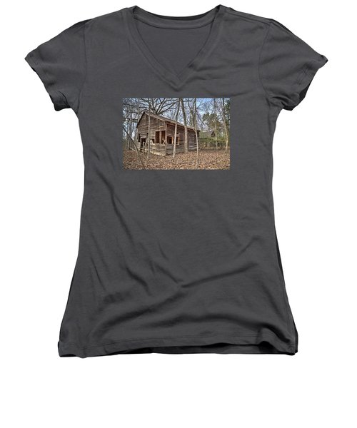 Peak Ruins-1 Women's V-Neck