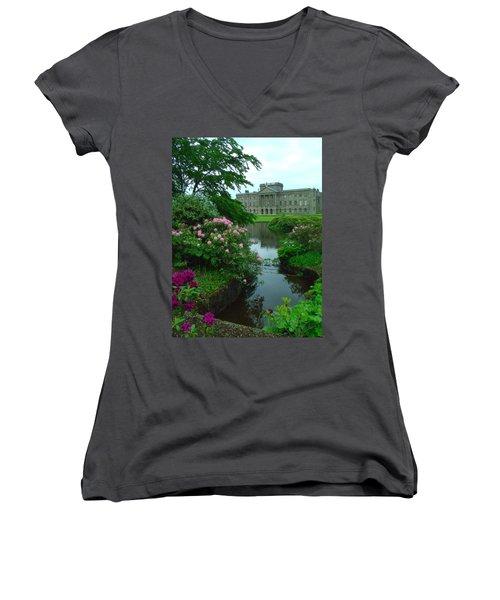 Pemberley Women's V-Neck T-Shirt