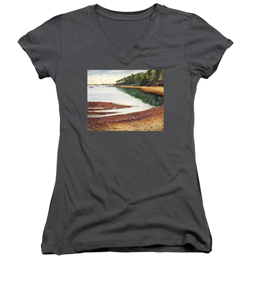 Penobscot Bay Women's V-Neck T-Shirt