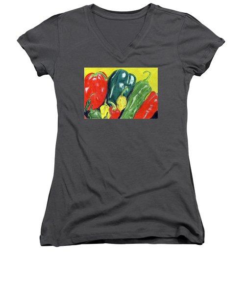 Peppers Women's V-Neck