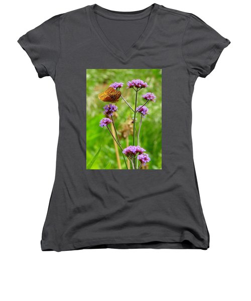 Perched Women's V-Neck (Athletic Fit)