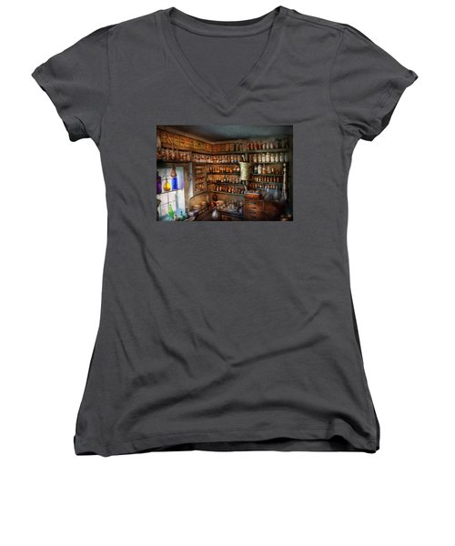 Pharmacy - Medicinal Chemistry Women's V-Neck T-Shirt
