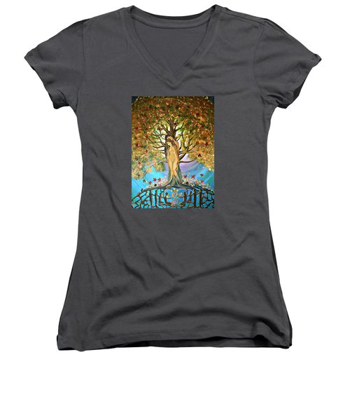Pixie Forest Women's V-Neck T-Shirt