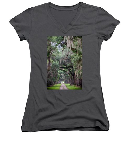 Plantation Path Women's V-Neck (Athletic Fit)