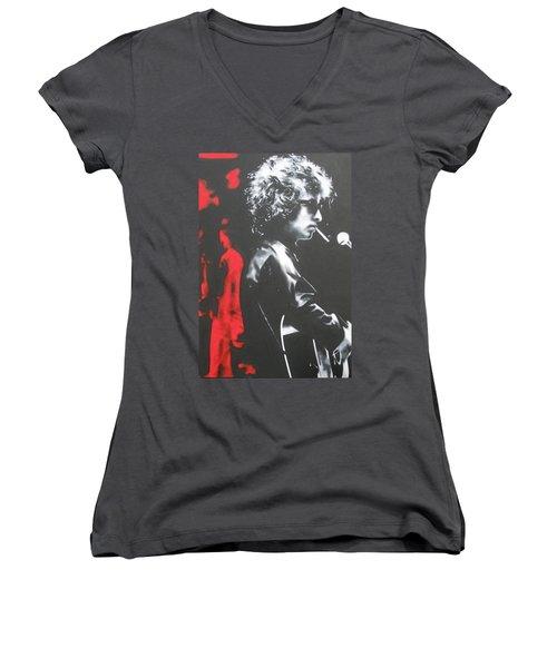 Play It Fuckin' Loud Women's V-Neck T-Shirt