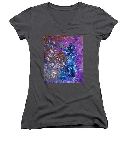 Pops Women's V-Neck T-Shirt