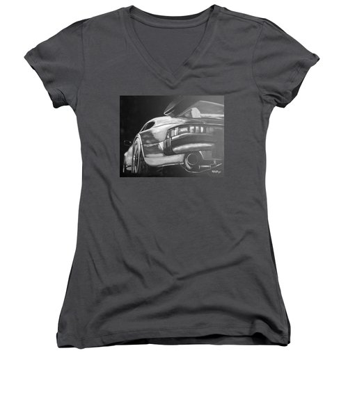 Porsche Turbo Women's V-Neck