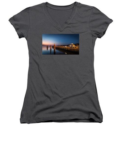 Port Jefferson Women's V-Neck T-Shirt