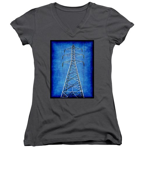 Power Up 1 Women's V-Neck (Athletic Fit)