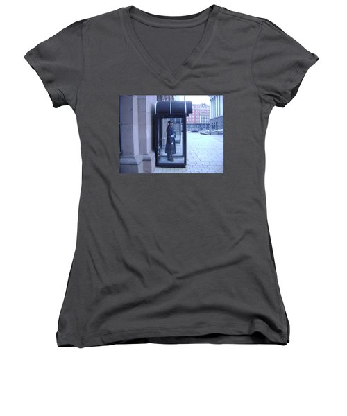 Presidential Guard Women's V-Neck T-Shirt