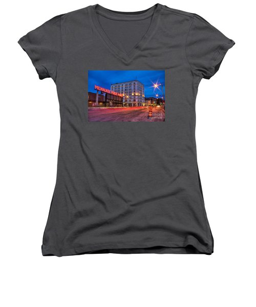 Public Market Zip Women's V-Neck (Athletic Fit)