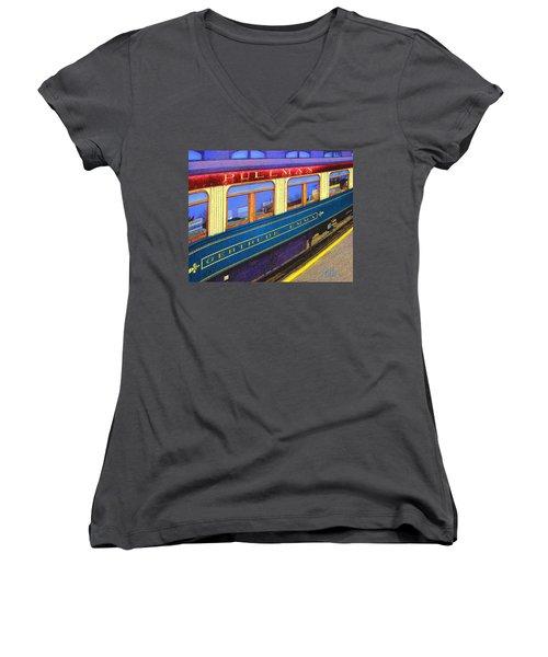 Pullman Women's V-Neck T-Shirt