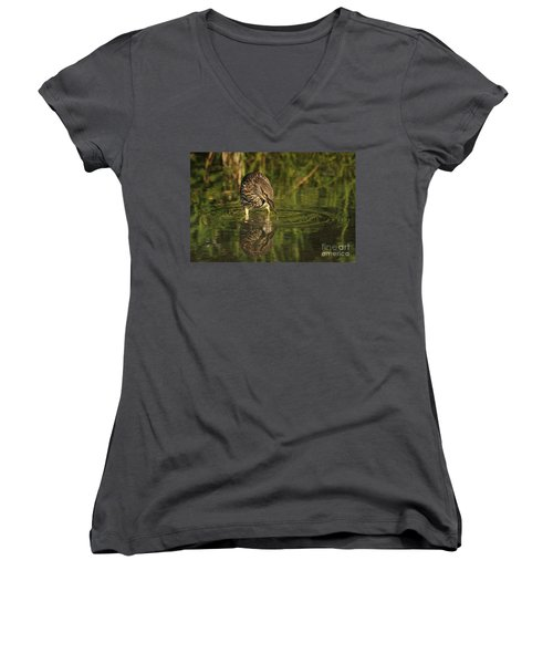 Quench Women's V-Neck (Athletic Fit)