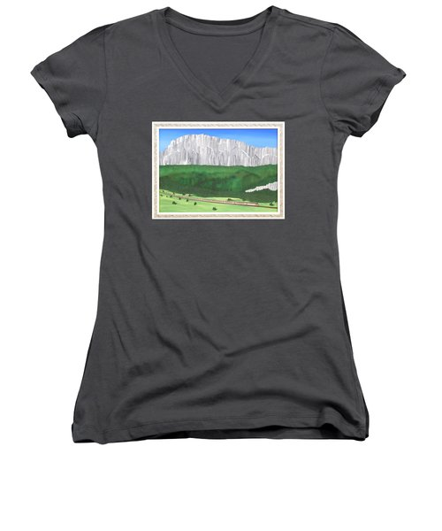Railway Adventure Women's V-Neck T-Shirt