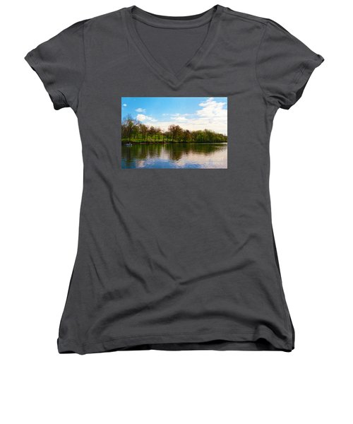Rappahannock River I Women's V-Neck (Athletic Fit)