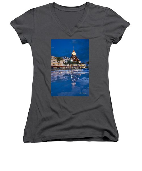 Rare Reflection Women's V-Neck (Athletic Fit)