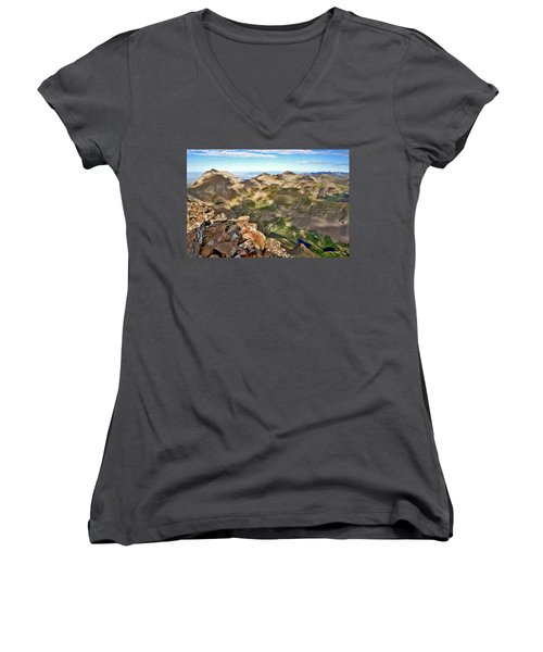 Reason To Climb Women's V-Neck T-Shirt