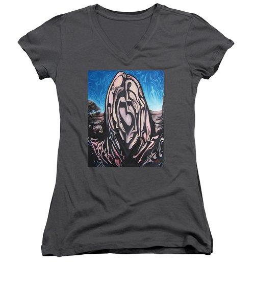 Recluse Women's V-Neck T-Shirt